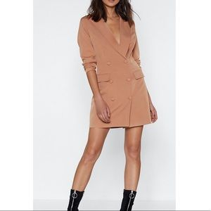 Blazer dress Nasty Gal